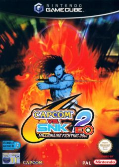 Jaquette de Capcom VS. SNK 2 : Millionaire Fighting 2001 GameCube