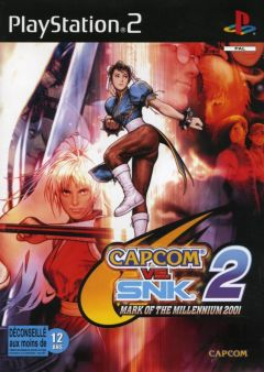 Jaquette de Capcom VS. SNK 2 : Millionaire Fighting 2001 PlayStation 2