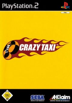 Jaquette de Crazy Taxi PlayStation 2