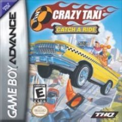 Jaquette de Crazy Taxi Game Boy Advance