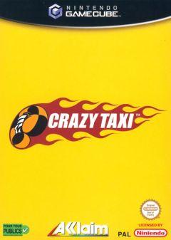 Jaquette de Crazy Taxi GameCube