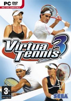 Jaquette de Virtua Tennis 3 PC