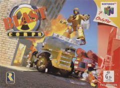 Jaquette de Blast Corps Nintendo 64