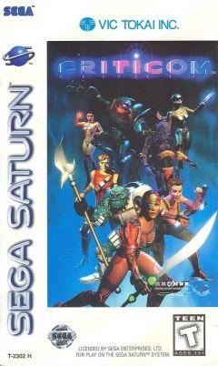 Jaquette de Criticom Sega Saturn