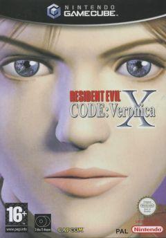 Jaquette de Resident Evil Code : Veronica X GameCube