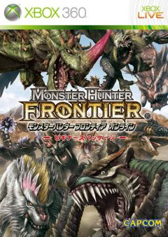 Jaquette de Monster Hunter Frontier Online Xbox 360