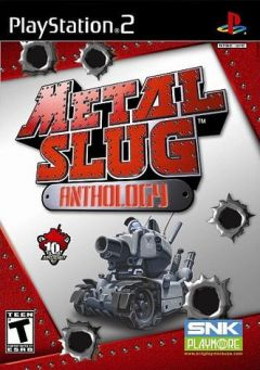 Jaquette de Metal Slug Anthology PlayStation 2