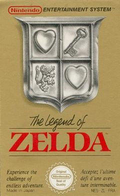 Jaquette de The Legend of Zelda NES