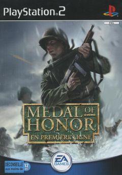 Jaquette de Medal of Honor : En première ligne PlayStation 2