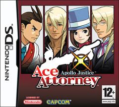 Jaquette de Ace Attorney : Apollo Justice DS