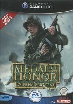 Jaquette de Medal of Honor : En première ligne GameCube