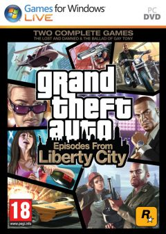 Jaquette de Grand Theft Auto : Episodes from Liberty City PC