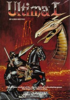 Jaquette de Ultima I : The First Age of Darkness PC