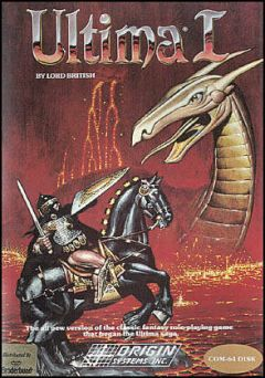 Jaquette de Ultima I : The First Age of Darkness Commodore 64
