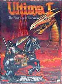 Jaquette de Ultima I : The First Age of Darkness MSX