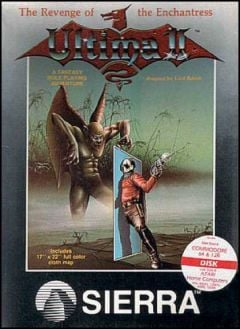 Jaquette de Ultima II : Revenge of the Enchantress Commodore 64