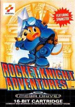 Jaquette de Rocket Knight Adventures Mega Drive