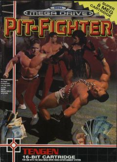 Jaquette de Pit-Fighter Megadrive