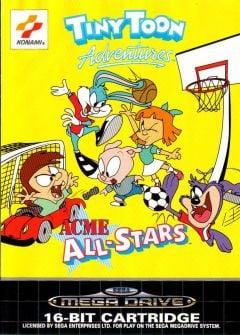 Jaquette de Tiny Toon Adventures : ACME All-Stars Mega Drive