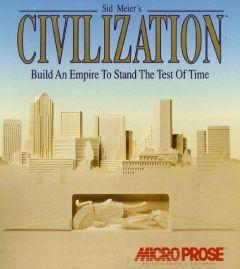 Jaquette de Sid Meier's Civilization PC