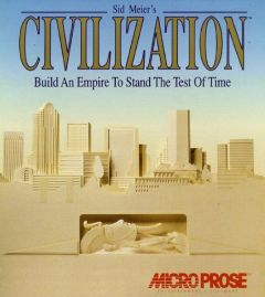 Jaquette de Sid Meier's Civilization PC