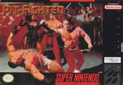 Jaquette de Pit-Fighter Super NES