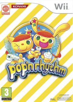 Jaquette de pop'n rhythm Wii