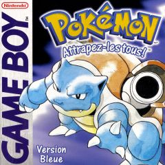 Jaquette de Pokémon version Bleue Game Boy