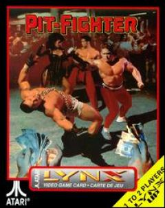 Jaquette de Pit-Fighter Lynx