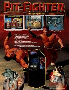 Jaquette de Pit-Fighter Arcade