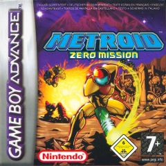 Jaquette de Metroid : Zero Mission Game Boy Advance
