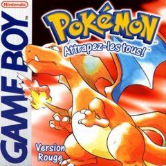 Jaquette de Pokémon Rouge Game Boy