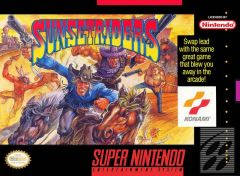 Jaquette de Sunset Riders Super NES