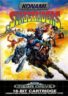 Jaquette de Sunset Riders Megadrive