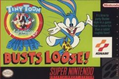 Jaquette de Tiny Toon Adventures : Buster Busts Loose ! Super NES