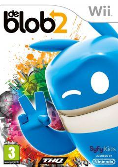 Jaquette de de Blob 2 Wii