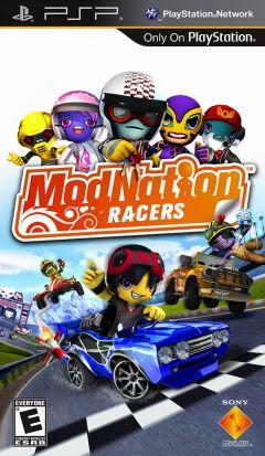 Jaquette de ModNation Racers PSP