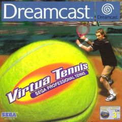 Jaquette de Virtua Tennis Dreamcast