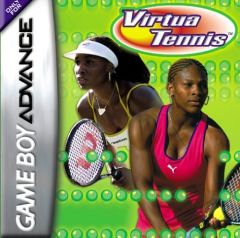 Jaquette de Virtua Tennis Game Boy Advance