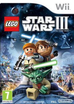 Jaquette de LEGO Star Wars III : The Clone Wars Wii