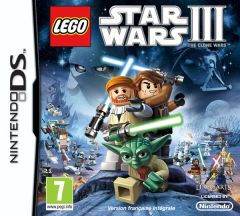Jaquette de LEGO Star Wars III : The Clone Wars DS