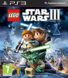 Jaquette de LEGO Star Wars III : The Clone Wars PlayStation 3