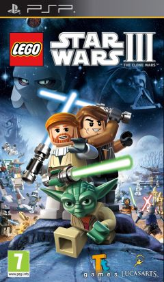 Jaquette de LEGO Star Wars III : The Clone Wars PSP