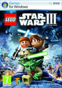 Jaquette de LEGO Star Wars III : The Clone Wars PC