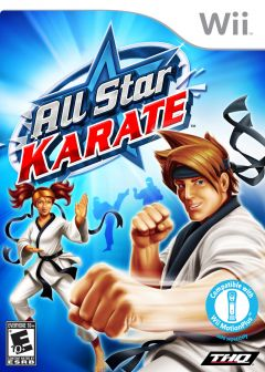 Jaquette de All-Star Karate Wii