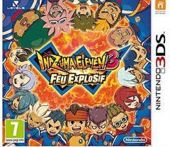 Jaquette de Inazuma Eleven 3 Feu Explosif Nintendo 3DS