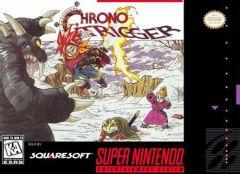 Jaquette de Chrono Trigger Super NES