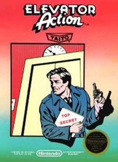 Jaquette de Elevator Action NES