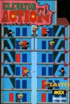 Jaquette de Elevator Action MSX