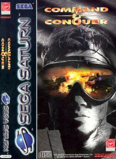 Jaquette de Command & Conquer Sega Saturn